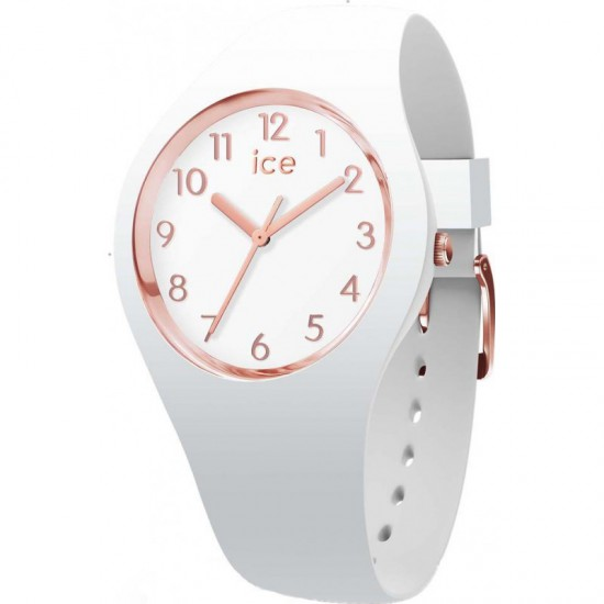 ICE WATCH GLAM WHITE ROSE GOLD NUMBERS EXTRA SMALL - 606043