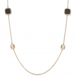 ONE MORE 18kt roze gouden ketting - 604119