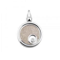 SEE YOU memorial gedenksierraad - zilveren hanger met zirconium - 603573