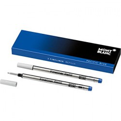 MONTBLANC ROLLERBALL REFILLS PACIFIC BLUE B - 605288