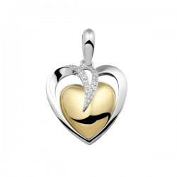 SEE YOU memorial gedenksierraad - zilveren hanger met zirconium - 603570