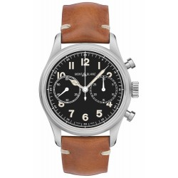 MONTBLANC 1858 STEEL 42MM AUTOMATIC - 605354