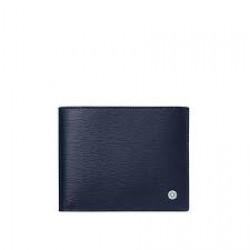 Montblanc Wallet Westside 8cc blue - 604510