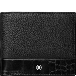 Montblanc Meisterstuck wallet 6CC soft grain - 604044