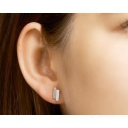 Zilveren oorringen - staafjes - 607732