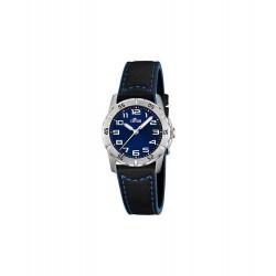 LOTUS Jongens uurwerk met duidelijke aanduiding - 606007