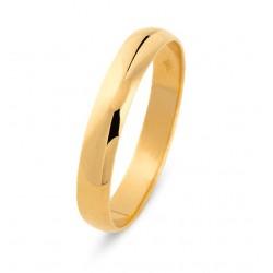 DUO 18kt geelgouden trouwring - 609453