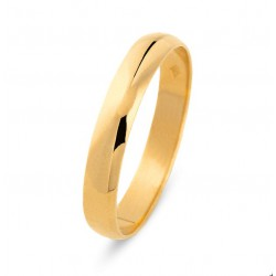DUO 18kt geel gouden trouwring - 609456