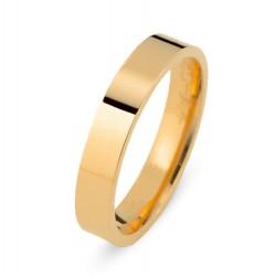 DUO 18kt geelgouden trouwring - 609489