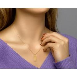 14kt geelgouden halsketting - 607782