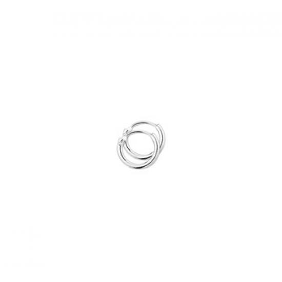 14kt witgouden oorringen - 605989