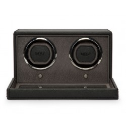 Wolf cub double watch winder with cover - 608717