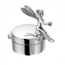 SEE YOU memorial gedenksierraad - zilveren mini urne met elfje - 603572