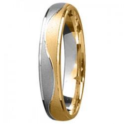 Tessina 18kt gouden trouwring - 4mm breedte - 51618