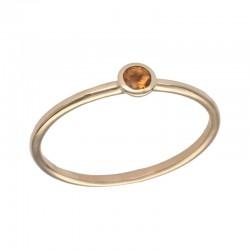 SWING JEWELS 18kt geel gouden ring met geboortesteen - November - 610600