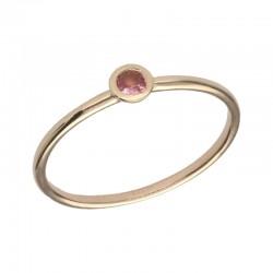 SWING JEWELS 18kt geel gouden ring met geboortesteen - Oktober - 610598