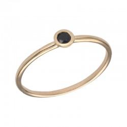 SWING JEWELS 18kt geel gouden ring met geboortesteen - September - 610597