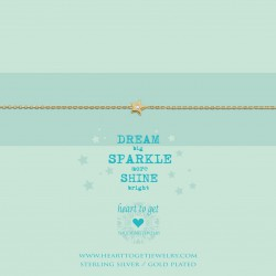 Heart to get necklace - Dream big, Sparkle more - 601874
