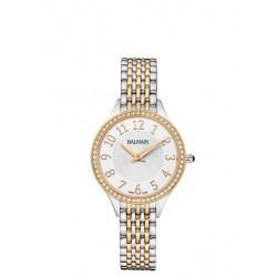 Balmain bicolore dames uurwerk quartz + briljant 0.21ct - 54168