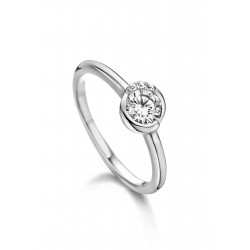 NAIOMY MOMENTS ring in zilver met zircoon - 601697