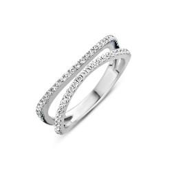 NAIOMY MOMENTS ring in zilver met zircoon - 601724