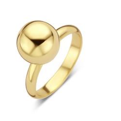 NAIOMY MOMENTS Zilveren ring, geel verguld - 605620