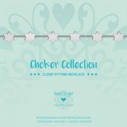 Heart to get choker - stars - 601995