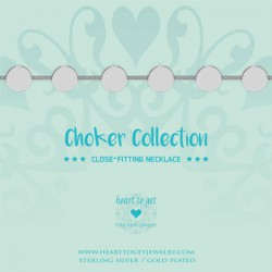 Heart to get, Choker, with coins - 601991