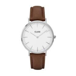 CLUSE La Boheme silver white/brown - 602339