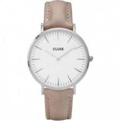 CLUSE La Boheme silver white/hazelnut - 602347