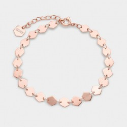 CLUSE Essentiele rose gold all hexagons chain bracelet - 602666