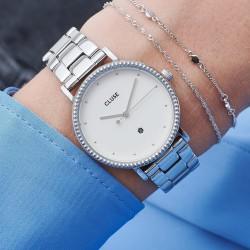CLUSE Le Cournonnement silver white/white - 606619