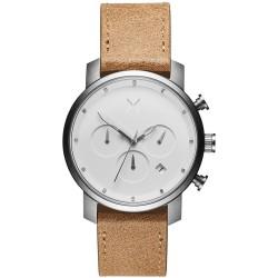MVMT heren chrono uurwerk - Monochrome fashion chrono - 606386