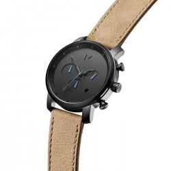 MVMT heren chrono uurwerk - Chrono Gunmetal Sandstone - 606382