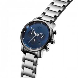 MVMT heren chrono uurwerk - Chrono Navy Silver - 605467