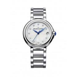 Maurice Lacroix dames uurwerk met diamant 0.06ct - 607164