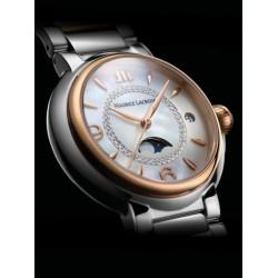 Maurice Lacroix Fiaba dames uurwerk met diamant en moonphase - 608133