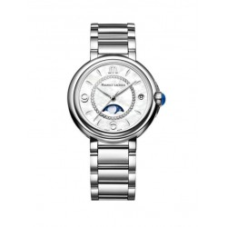 Maurice Lacroix Fiaba dames uurwerk met diamant en moonphase - 608259