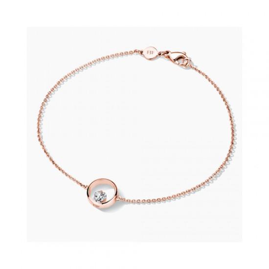 FJF Jewellery zilveren armband met Swarovski - 609214