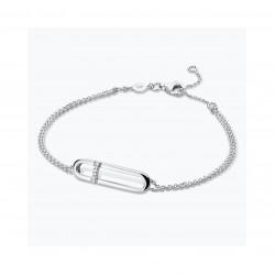 FJF Jewellery zilveren armband met Swarovski - 609217