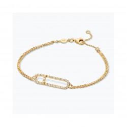 FJF Jewellery zilveren armband met Swarovski - 609218