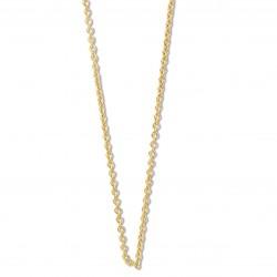 18KT geelgouden halsketting 42cm - 608586
