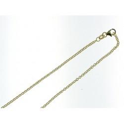18KT geelgouden halsketting 45cm - 608585