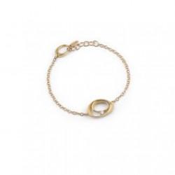 AnnaMaria Cammilli Sautoir 18kt geelgouden armband met briljant 0.12ct - 608274