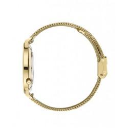 KANE heren uurwerk quartz - Gold Rush mesh gold - 605143