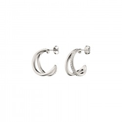 Calvin Klein stalen oorringen - 607354