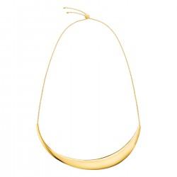 Calvin Klein stalen ketting geel verguld - 605422