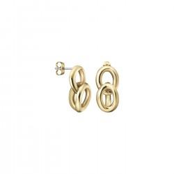 Calvin Klein staal vergulde oorringen - 607286
