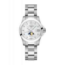 LONGINES Conquest dames uurwerk met batterij, datum en maanstand - 606132