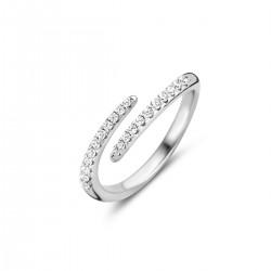 NAIOMY zilveren ring met zirconium - 607677